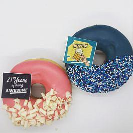 21 jaar donuts