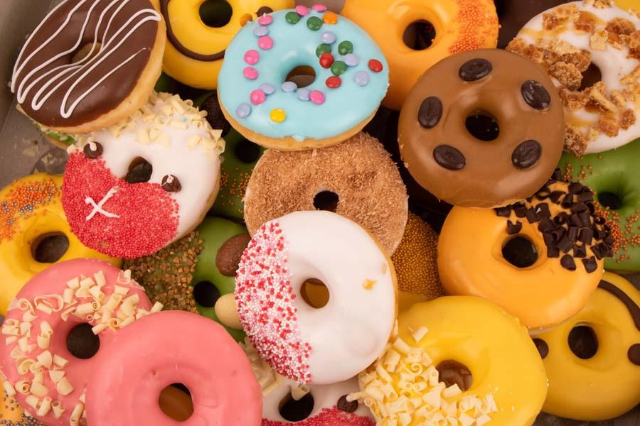 Pinksterweekend donutbox