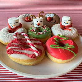 Kerst donuts